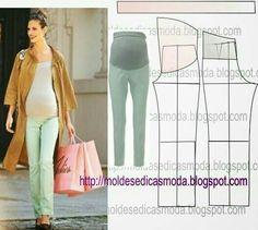 d56c1b3d9 Cómo hacer un pantalón para embarazadas o arreglar uno para una embarazada  Vestido Tipo Camiseta