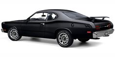 1971 Plymouth Duster ours was black with white body stripes and a flat black hood with 340 Wedge in white. Dodge Duster, Plymouth Duster, Plymouth Muscle Cars, Best Classic Cars, American Muscle Cars, Chevrolet Camaro, Corvette, Car Manufacturers, Dusters
