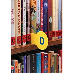 Demco.com -  Library Shelf Markers