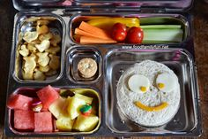 Food, Family, Fun.: Funky Faces! Packed in @Planet Box  rover