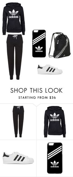 """If your a Fan of Adidas"" by rianmoreno ❤ liked on Polyvore featuring Topshop, adidas Originals and adidas"