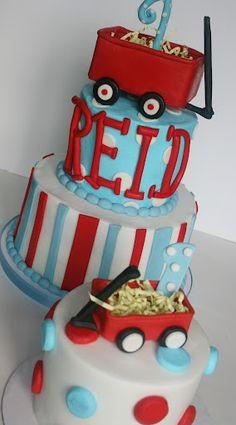 And Everything Sweet: Red Wagon First Birthday