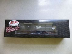 Atlas Classic Norfolk & Western Alco C-425 #1005 HO Scale Locomotive w/ Box…
