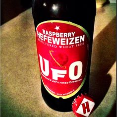 Harpoon Raspberry UFO - Had this at a new bar in Jersey City last week & I think it'd be the perfect craft beer to try my beersicle recipe with for Jeff's birthday!