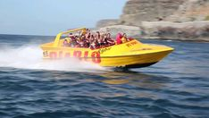 Take Gran Canaria's ultimate jet boat Ride with Gran Canaria Excursions Boat, Tours, Highlights, Activities, Dinghy, Boats, Luminizer, Hair Highlights, Highlight