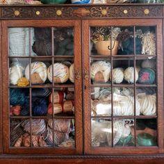 #yarnstash hashtag on Instagram • Photos and Videos Yarn Storage, Yarn Stash, China Cabinet, Photo And Video, Videos, Photos, Instagram, Home Decor, Thread Storage