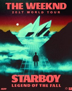 Art Poster The Weeknd 2017 World Tour Starboy Music Hot Silk 2436 - Poster Music - - Art Poster The Weeknd 2017 World Tour Starboy Music Hot Silk 2436 Price : The Weeknd Tickets, The Weeknd Poster, The Weeknd Album Cover, The Weeknd Albums, The Weeknd 2017, Abel The Weeknd, Poster Wall, Poster Prints, Beauty Behind The Madness