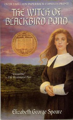 The Witch of Blackbird Pond  by Elizabeth George Speare. I never tire of reading this one.