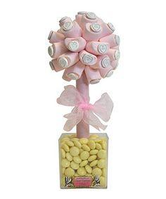 Marshmallow love hearts sweet tree