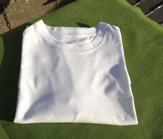 Classic Fit  Crew Neck undershirt  White by Mariannasboutique