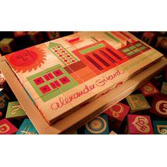 Alexander Girard Alphabet Blocks