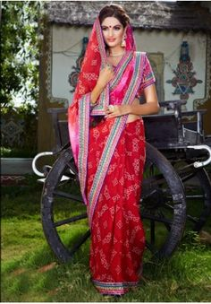 Georgette Lehriya Saree Product Code: FHLASANG1261 Availability:In Stock Price: Rs.1,624