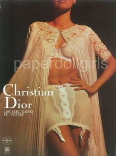 1966 Girdle Ads | Magazine Ad, 1966 French Vogue, Christian Dior, Lingerie, Girdle ...
