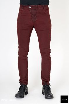 Boris Bidjan Saberi P13XTF-F1939-C3 653 € | Seven Shop Fall Winter, Black Jeans, Pants, Shopping, Fashion, Trouser Pants, Moda, Fashion Styles, Black Denim Jeans
