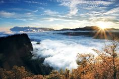 Sunrise on Mount Ali in Taiwan, Republic of China..  #Sunrise #MountAli #Taiwan #China .. Visit us on Facebook:  https://www.facebook.com/groups/imagesfromallovertheworld