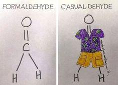Formal Vs. Casual Chemistry