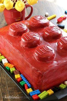 Lego Cake @FoodBlogs