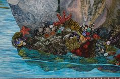 Detail of tide pools | by kathymcneilquilts