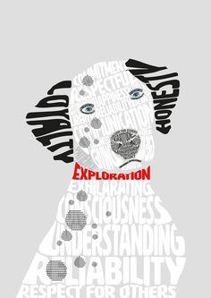 Typografische poster - Nine van Bergen CO1E