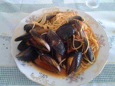 Spaghetti allo scoglio Santoro's way