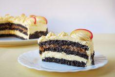 Moha Konyha: Szabolcsi almás máktorta diabetikus és gluténmentes változatban Gluten Free Recipes, Cheesecake, Food And Drink, Sweets, Cookies, Cukor, Glutenfree, Sweet Pastries, Crack Crackers