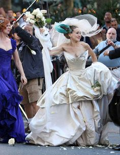 Sex and the City . (2008). | 48 Of The Most Memorable Wedding Dresses From The Movies