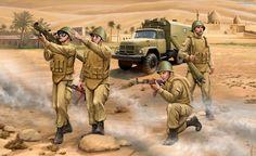 Soviet conscripts in Afghanistan. Soviet-Afghan War