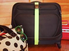 DIY Elastic Luggage Strap