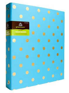 "Keep all your assignments and papers in one place with this cute metallic binder—you'll have the best one in your class! (Target Greenroom 1"" Metallic Dot Binder, $5.98, target.com)   - Seventeen.com"
