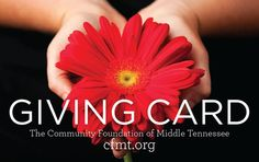 Mid-TN Today: Community Foundation of Middle Tennessee Launches Giving Card Program