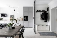 Small space inspiration from a Swedish home