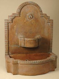 Spanish Mission Wall Fountain, Large