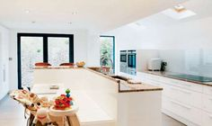 A replacement extension in a London conservation area via @Real Homes