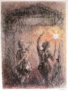 Alfred Kubin: Die Fackel* [The Torch] (La fiaccola)