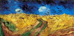 Wheat Field with Crows- Vincent van Gogh