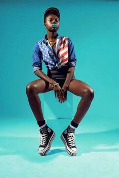 Sea Sirens swimwear by Vivienne Austin,styled by One Nigerian Boy for WOW magazine