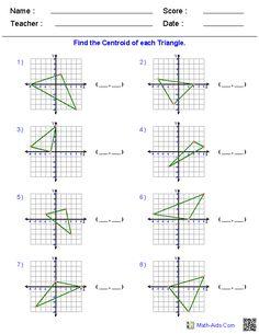 Rotations Worksheets | Math-Aids.Com | Pinterest | Worksheets ...