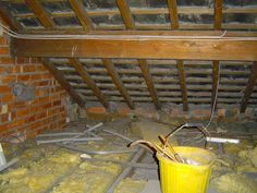 Inspecting Roof Spaces – Part 1 - A 'Rafter' information available - Anyone with an interest in property can learn a great deal from what they find in a roof space as this is one of those places where most people chose to ignore, use is generally limited to storage or access once a year to collect the Christmas tree and then put it back again afterwards!