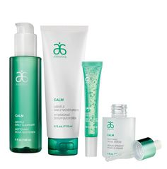 Stay calm, collected and cool with #Arbonne Calm Collection for sensitive skin.