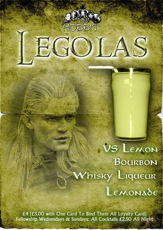 Legolas Cocktail