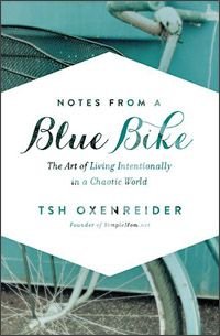 Notes From a Blue Bike - revealing the cover of my next book! Crazytown.