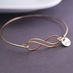 Gold Infinity Bracelet