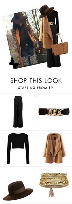 """Style"" by missachan ❤ liked on Polyvore featuring Roksanda, Forever 21, Maison Michel, New Look and MICHAEL Michael Kors"