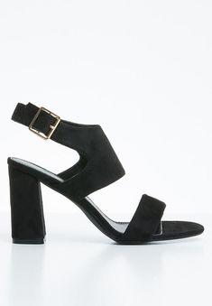 Slingback heel - black STYLE REPUBLIC Heels | Superbalist.com Black Style, Black Heels, Open Toe, Heeled Mules, Ankle Strap, Two By Two, Footwear, Flats, How To Wear