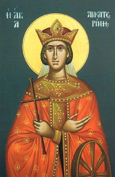 St. Catherine the Great Martyr Feast day: 25th November