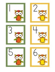 These owl-themed calendar cards will add color and style to your monthly calendar. The September Owl Themed monthly cards are created with an AB color pattern. Preschool Themes, Classroom Activities, Classroom Organization, Organizing, Polka Dot Theme, Fall Owl, September Calendar, Owl Theme Classroom, Math School