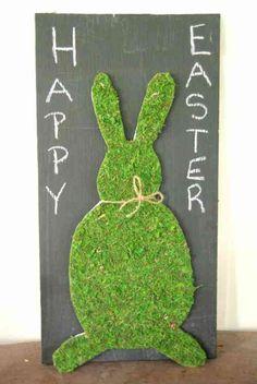 panneau décoratif avec lapin