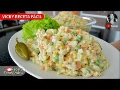 ' New recipes every week ! You are the best channel homemade recipes where stylish kitchen , honesty , hygiene, education and good flavor . Pasta Mexicana, Mexican Food Recipes, Ethnic Recipes, Potato Salad, Salads, Potatoes, Stylish Kitchen, Diet Ideas, Honesty