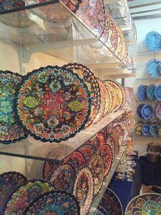 Decorative Turkish plates