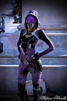 Tali'Zorah Vas Normandy, Mass Effect